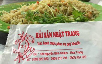 Nhà hàng hải sản Nhật Trang bị phạt và rút giấy phép kinh doanh