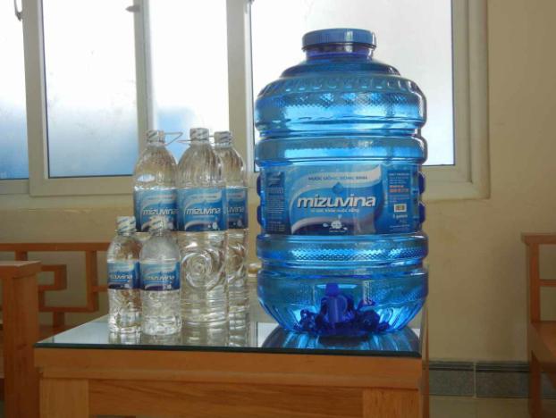 Công bố nước đóng bình