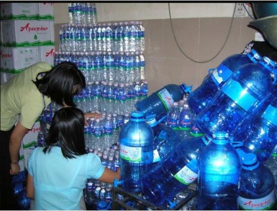Kiểm nước uống đóng bình