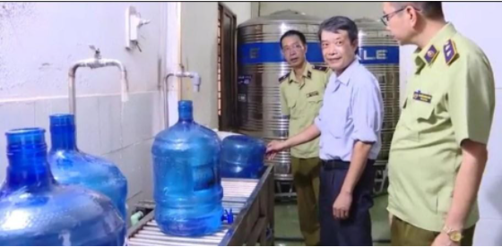Quy trình đánh giá nước đóng bình